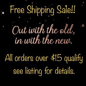 🔆August Only Free Shipping Sale🔆
